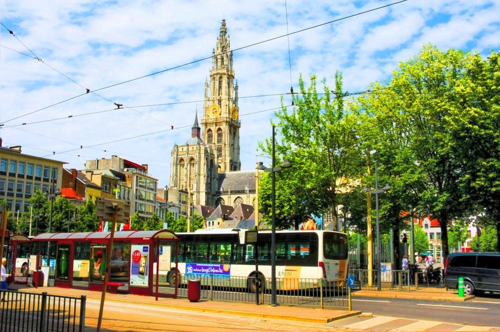 photoblog image Antwerp in summer