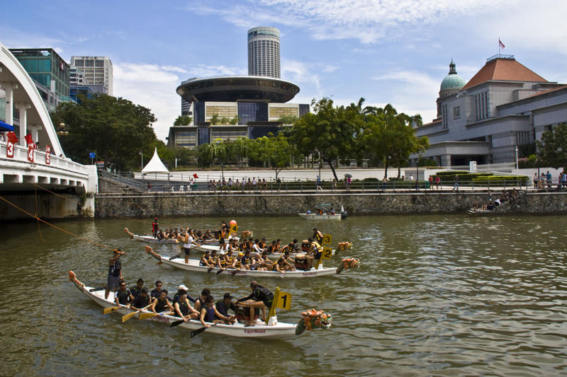 photoblog image Dragonboat