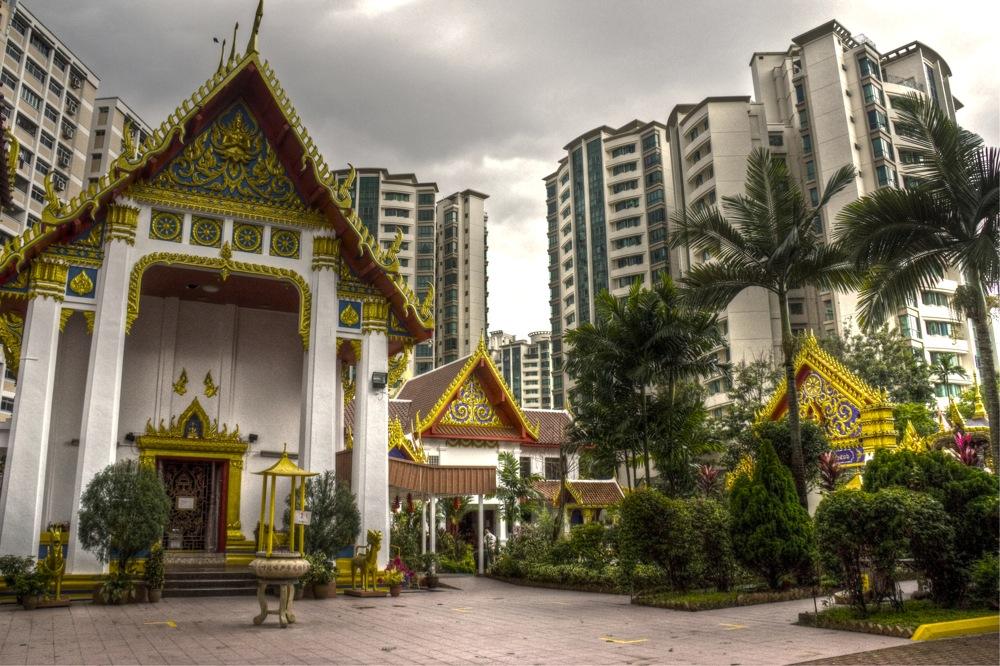 photoblog image Uttamayanmuni courtyard