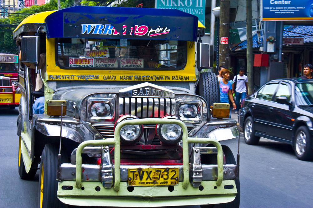 photoblog image Early Morning Jeepney