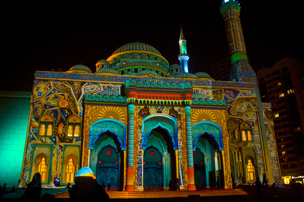 photoblog image UAE 12: Sharjah Light Festival