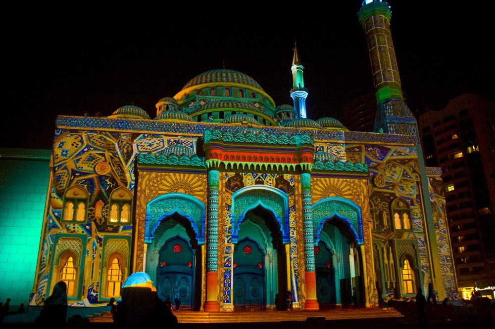 photoblog image UAE 12: Sharjah Light Festival