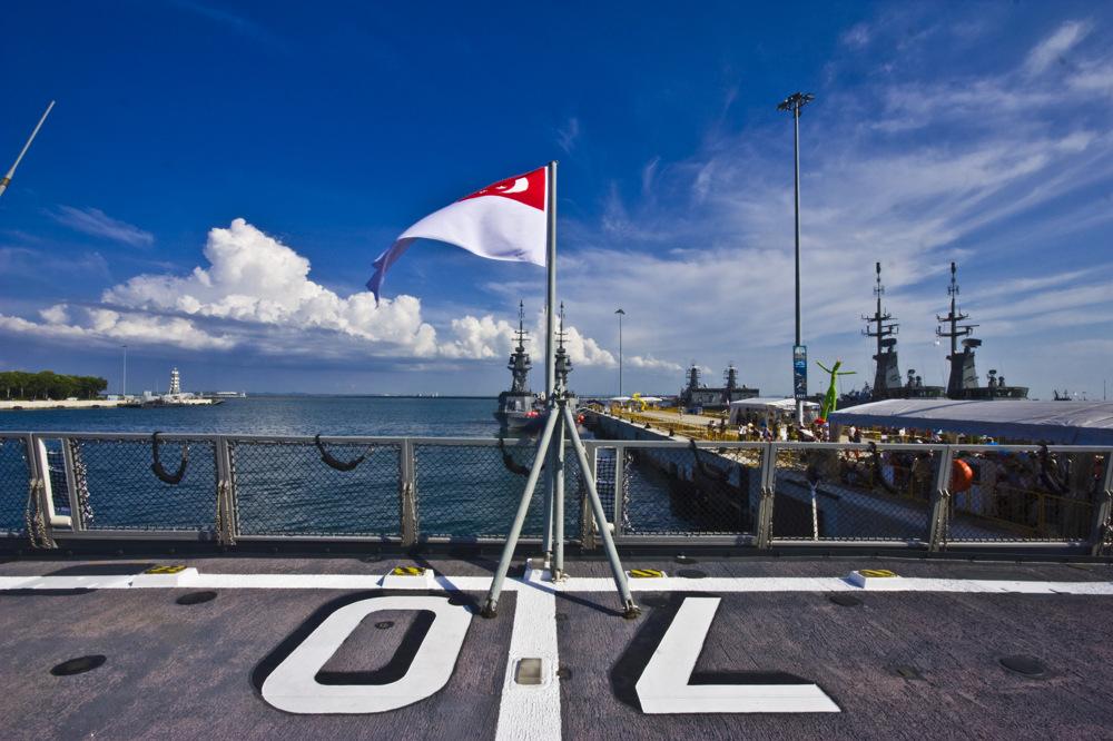photoblog image Singapore Naval Open House: RSS Steadfast Rear End