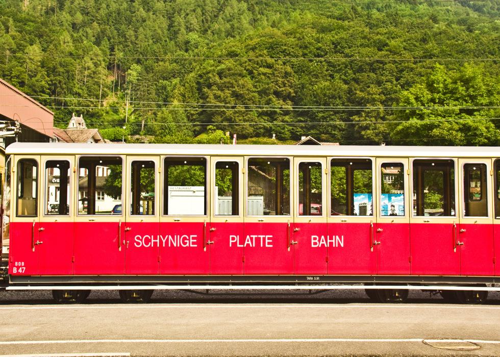 photoblog image CH44: Shynige Platte Bahn