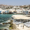 Greek Sojourn - Mykonos Beach