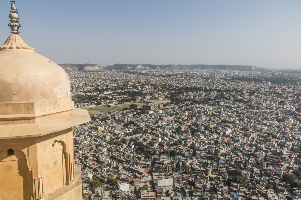 photoblog image Nahargarh Fort: City View